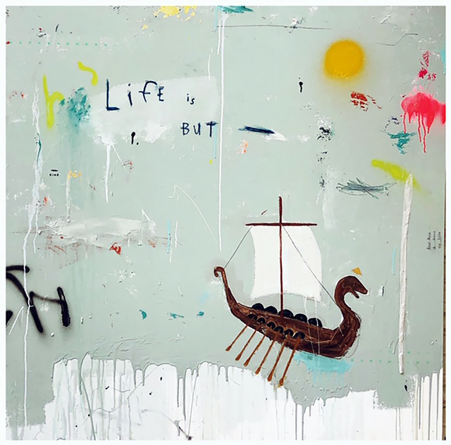 , 'Dream Like a King ,' 2018, Bruce Lurie Gallery