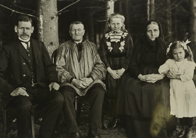 , 'I/ST/12 Three Generations of the Family,' 1912, Galerie Julian Sander