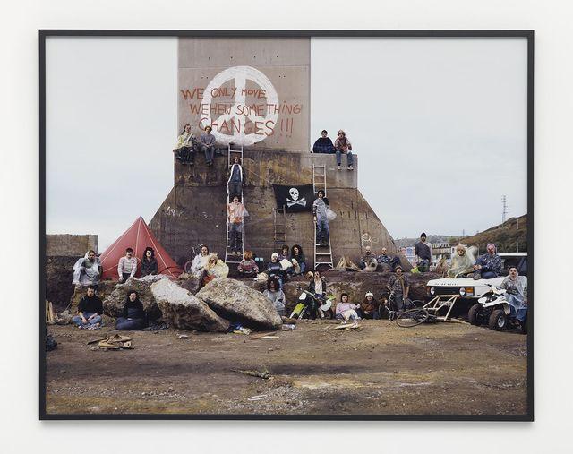 , 'We only move wehen something changes,' 2002, Nils Stærk