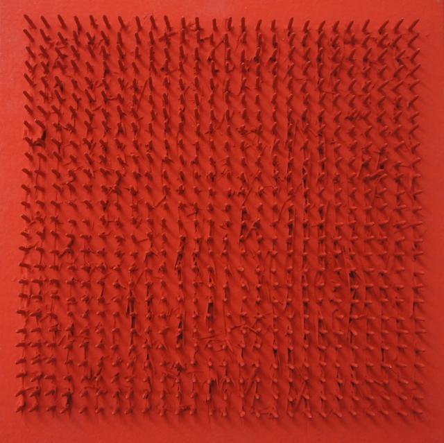 , 'Tableau clous,' 1969, Lattuada Studio