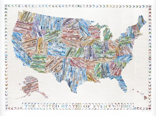 , 'The United States of Everywhere,' 2016, TAG Fine Arts