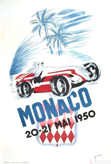 , 'Monaco Grand Prix 1950,' 1995, ArtWise