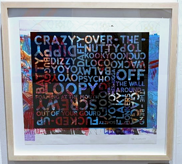 , 'Crazy (With Background Noise),' 2018, Alpha 137 Gallery