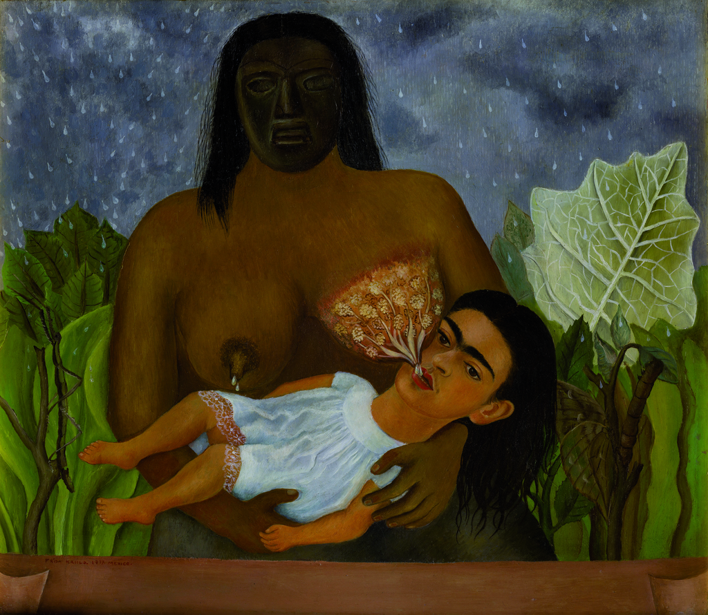 Frida Kahlo. Mi nana y yo.