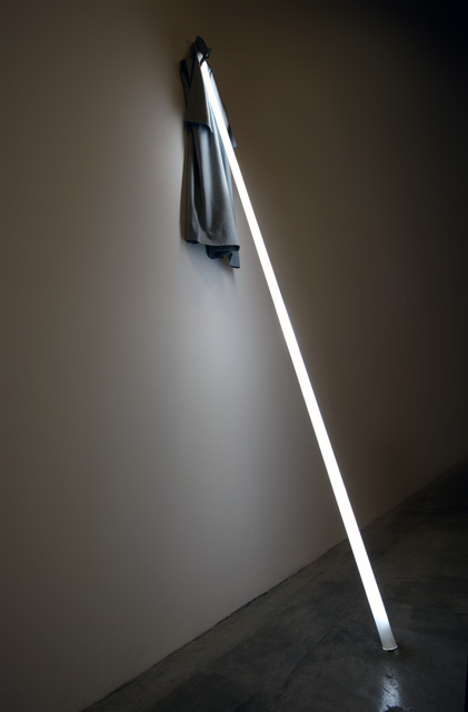 James Clar, 'Up Against the Wall ', 2011, Installation, Fluorescent light tubes, acrylic and kandora, Galeria Senda