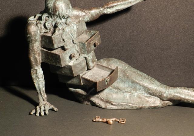 Salvador Dalí, 'Anthropomorphic Cabinet Sculpture', 1982, Sculpture, Bronze Sculpture with dark Patina, Fine Art Acquisitions Dali