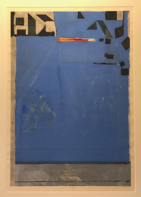 , 'Blue with Red,' 1987, Anderson Fine Art Gallery