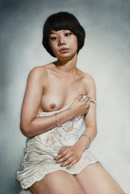 , 'Young Woman in Chemise,' 2014, Zeno X Gallery