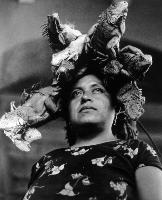 , 'Nuestra Senora de las Iguanas, Juchitan, Oaxaca,' 1996, Peter Fetterman Gallery
