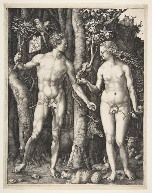 Albrecht Dürer, 'Adam and Eve', 1504, The Metropolitan Museum of Art