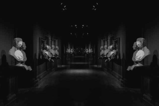 , 'Corridor, London,' 2018, Barnard