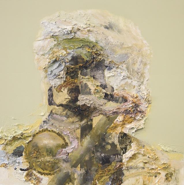, 'Quai Branly Head II (Feasting),' 2018, Opera Gallery