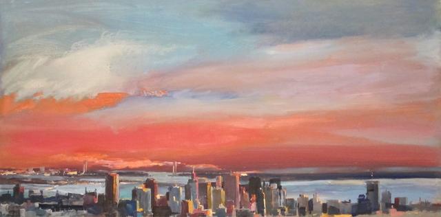 , 'Manhattan,' 2013, Barnadas Huang