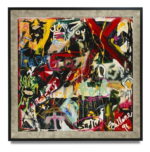 , 'Behind the Mind,' 1991, Galerie Gmurzynska