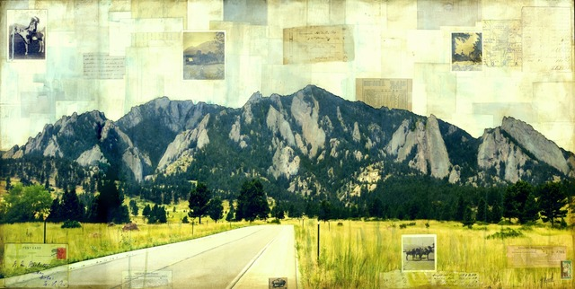 , 'Road to Flatirons,' 2018, Abend Gallery