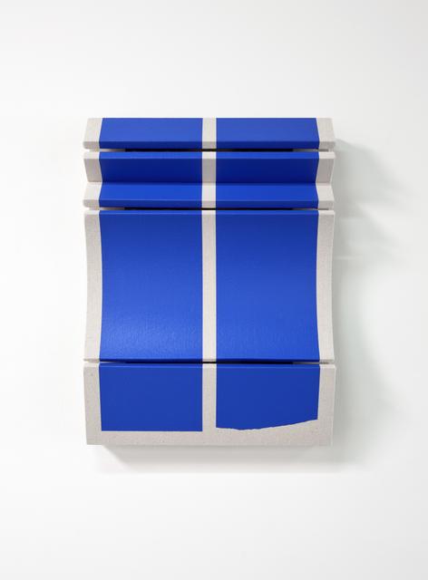 Robert William Moreland, 'Untitled Broken Blue Bars', 2019, Wilding Cran Gallery