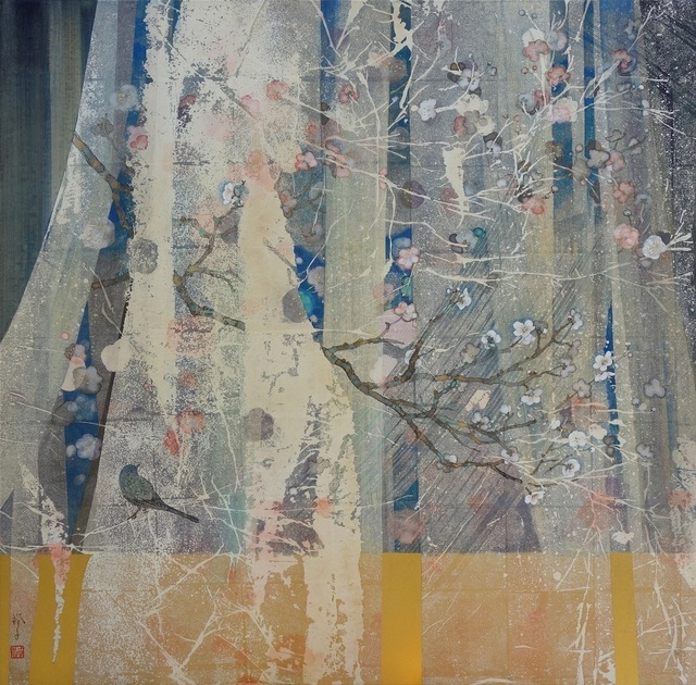 , 'a garden in spring,' 2018, Gallery Seizan