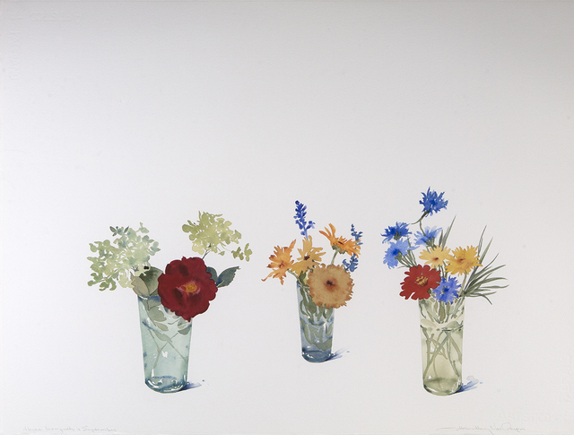 , 'Three Bouquets, September,' 2019, Dowling Walsh
