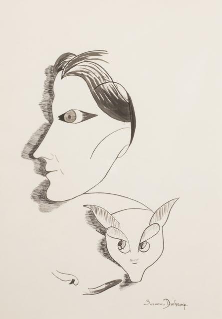 , 'Self Portrait,' ca. 1920, Francis M. Naumann Fine Art