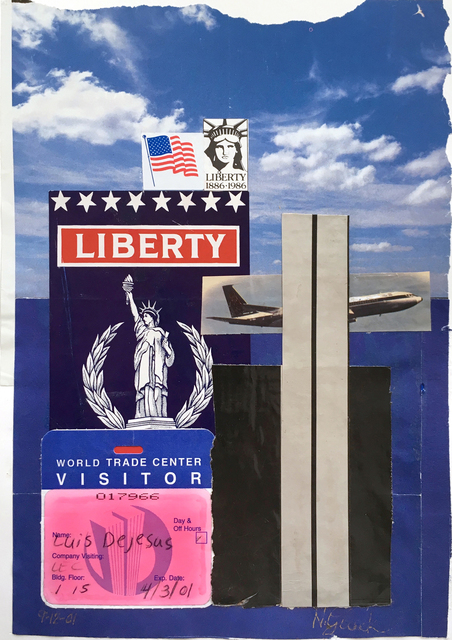 , 'WTC,' 2001, Luis De Jesus Los Angeles