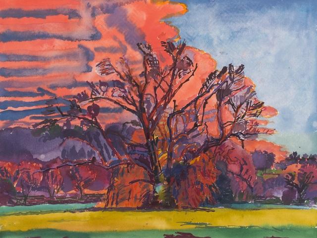 , 'Monumental Tree - Serena's Tree: Pink Winter,' 1999, New York Studio School