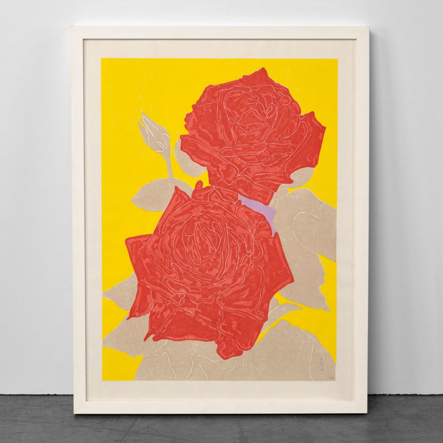 Gary Hume, 'Two Roses', 2009, Weng Contemporary