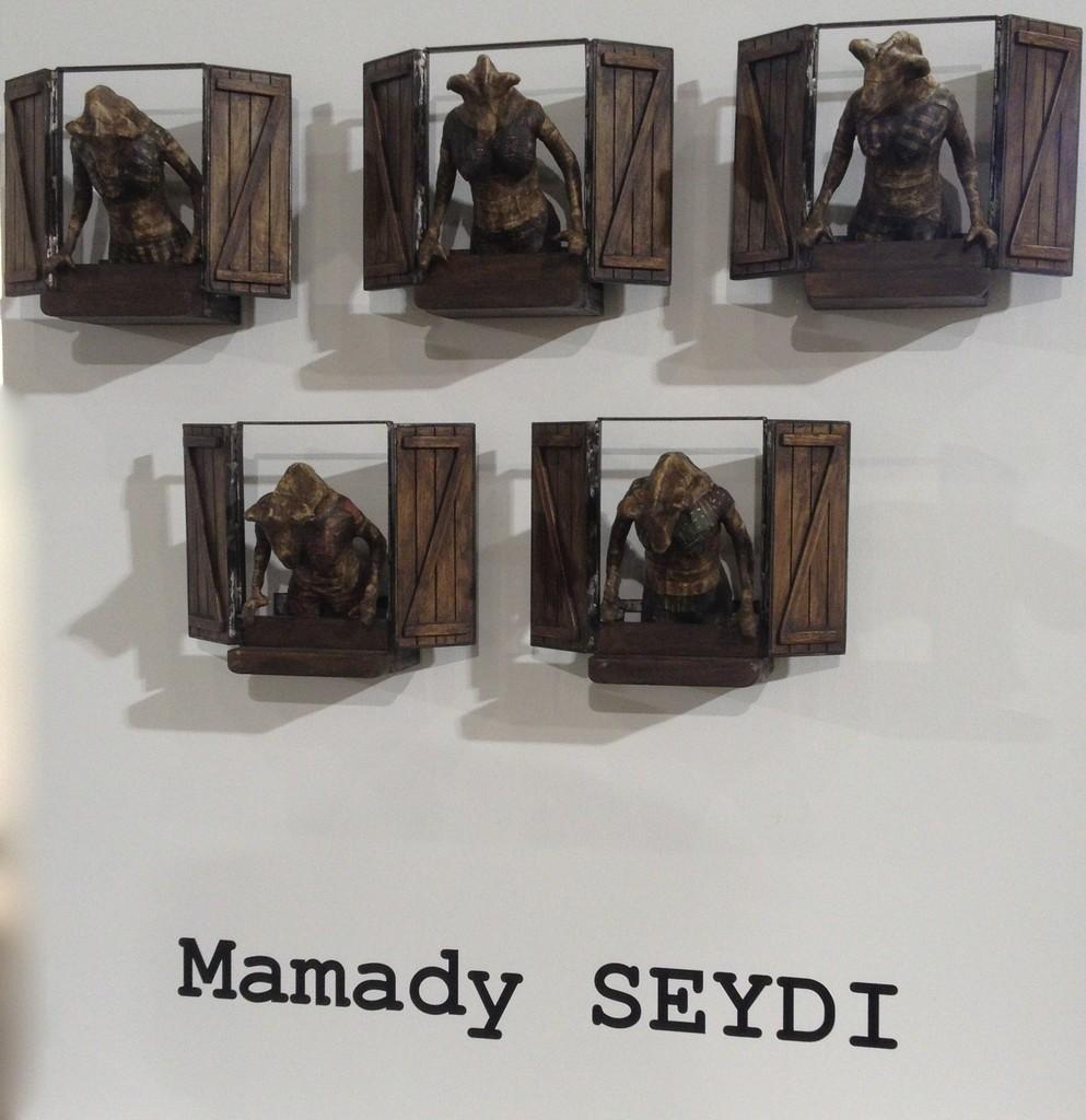 Galerie GALEA, Mamady SEYDI: «Kumpa dafay walle» (The curiosity is contagious) FNB art fair 2015