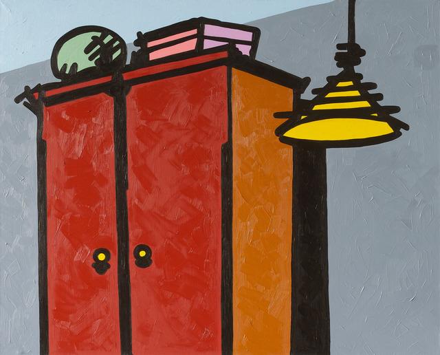 , 'Cupboard,' 2014, Gridchinhall