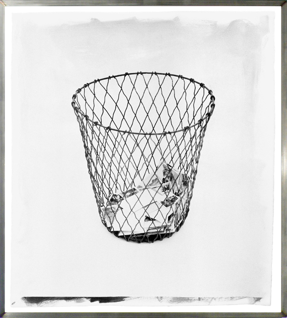 , 'Wire Basket 2,' 2003, HackelBury Fine Art
