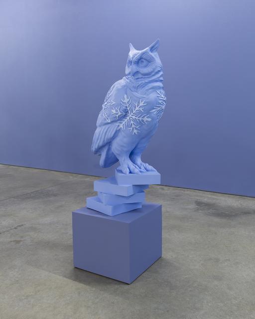 Sandy Skoglund, 'Owl #1', 2017, Sculpture, Digital sculpture cast in polyester resin, RYAN LEE