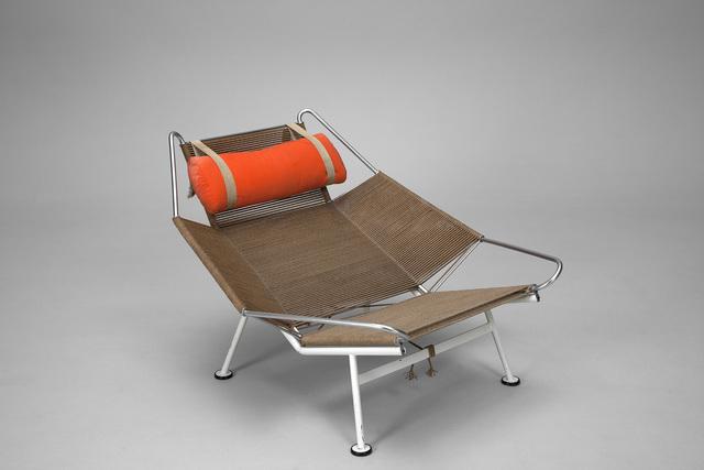 Hans Jørgensen Wegner, ''Flag Halyard' Lounge Chair, Model no. GE 225', 1960, Jacksons