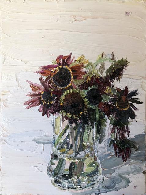 Allison Schulnik, 'Alizarin Sunflowers', 2011, Sean Horton (presents)