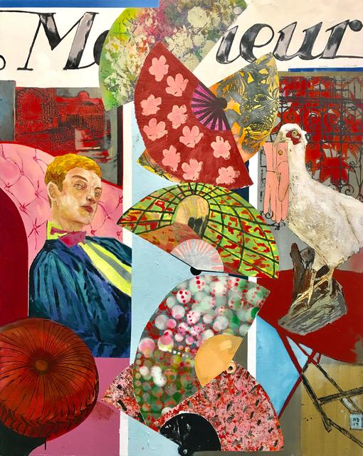 , 'Monsieur (Falling Fans) ,' 2017, Victoria Miro