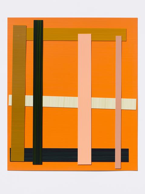 Imi Knoebel, 'Senzatitolo 4 Ed.', 2009/2011, Painting, Acrylic painted on synthetic paper, Galerie nächst St. Stephan Rosemarie Schwarzwälder