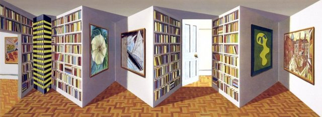 Patrick Hughes, 'Art Apartment', 2004, Bel-Air Fine Art