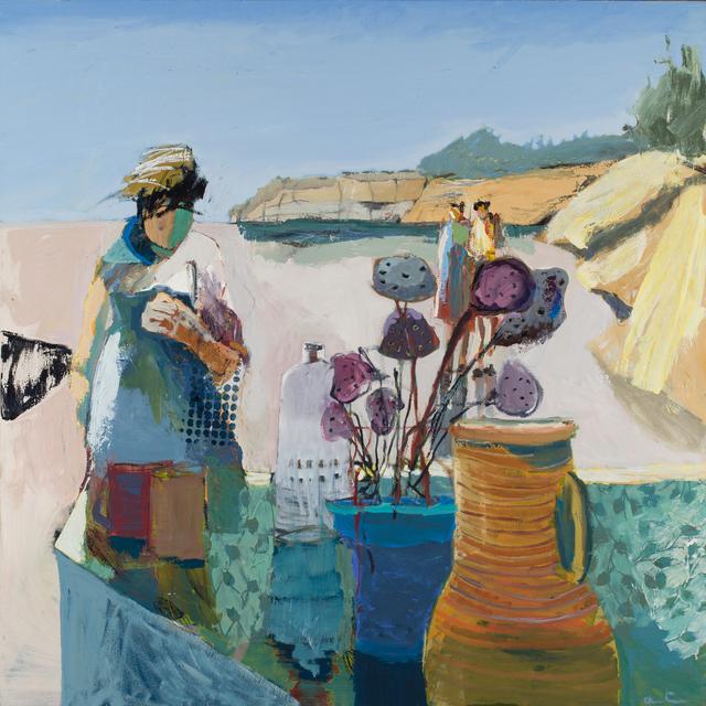 , 'Yellow Pitcher,' 2016, Sue Greenwood Fine Art
