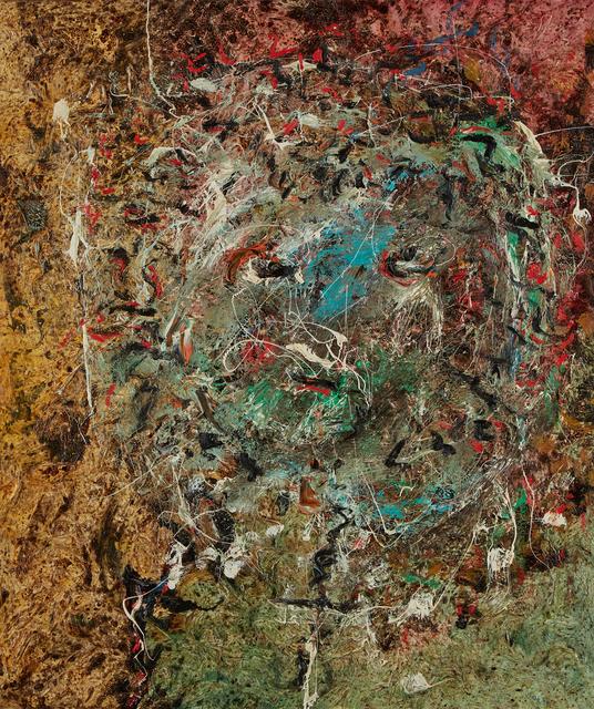 "Enrico Baj, '""Fauna Head""', 1957, Painting, Oil on canvas, Il Ponte"