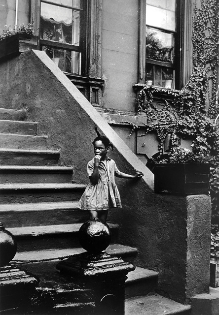 , 'Untitled (Girl on steps, building with ivy), Pennsylvania,' ca. 1980, Bruce Silverstein Gallery