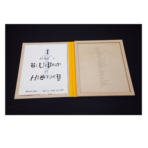 , 'I Had a Blueprint of History ,' 2012, Dieu Donné