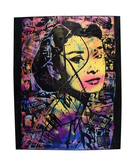 , 'Audrey Hepburn ,' 2015, The McLoughlin Gallery