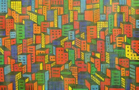 , 'Cidades,' 1984, Arte Fundamental