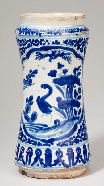 Unknown Artist, 'Apothecary Jar (Albarello)', 18th century, Davis Museum