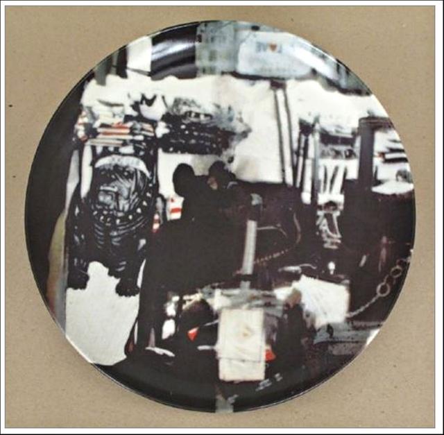 Robert Rauschenberg, 'Untitled Limited Edition Porcelain Plate (Guggenheim Museum)', 1997, Design/Decorative Art, Porcelain Plate (Limited Edition Exclusively for Guggenheim) - long sold out, Alpha 137 Gallery