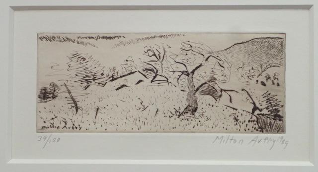 Milton Avery, 'Japanese Landscape', 1939, Friends Seminary Benefit Auction