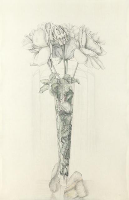 , 'Cinco rosas argenteas,' 2014, Lucia Mendoza
