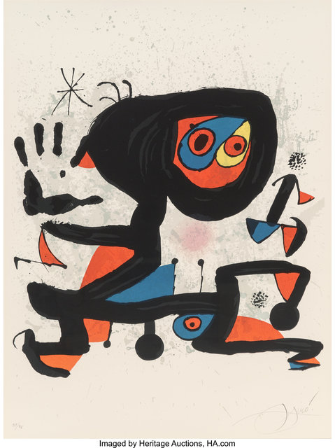 Joan Miró, 'Poster for UNESCO, Human Rights', 1974, Heritage Auctions