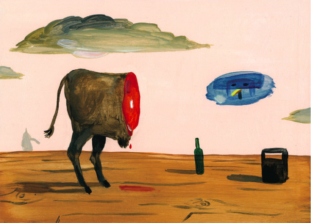 , 'Steak,' 2010, India Dickinson