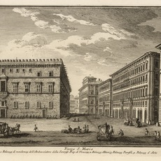 Giuseppe Vasi, 'Piazza S. Marco', 1747, Engraving, Getty Research Institute