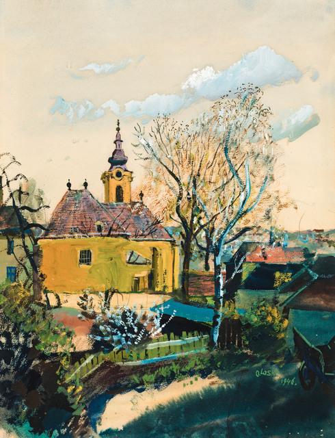 , 'Church in Ober St. Veit,' 1946, Galerie Kovacek & Zetter
