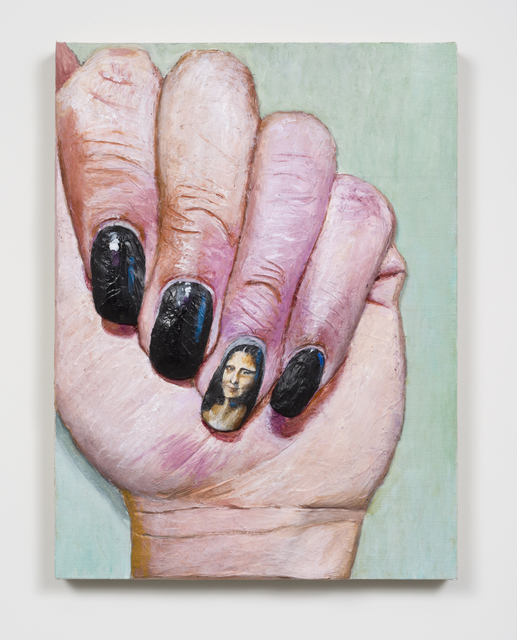 , 'Mona Lisa nail,' 2015, Michael Benevento